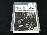 Indian Motorcycle News Chief Scout October 1985 Parts Book Manual P218