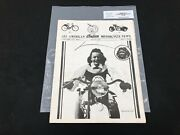 Indian Motorcycle News Chief Scout July 1986 Parts Book Manual P221
