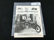 Indian Motorcycle News Chief Scout October 1986 Parts Book Manual P222