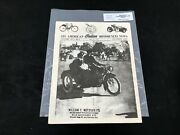 Indian Motorcycle News Chief Scout October 1987 Parts Book Manual P225