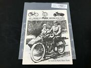 Indian Motorcycle News Chief Scout October 1988 Parts Book Manual P229