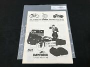 Indian Motorcycle News Chief Scout January 1989 Parts Book Manual P230