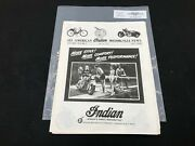Indian Motorcycle News Chief Scout July 1989 Parts Book Manual P232