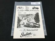 Indian Motorcycle News Chief Scout October 1989 Parts Book Manual P233