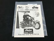 Indian Motorcycle News Chief Scout July 1990 Parts Book Manual P236