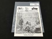 Indian Motorcycle News Chief Scout October 1990 Parts Book Manual P237