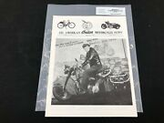 Indian Motorcycle News Chief Scout July 1991 Parts Book Manual P240