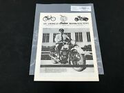 Indian Motorcycle News Chief Scout October 1991 Parts Book Manual P241