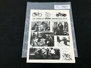 Indian Motorcycle News Chief Scout January 1992 Parts Book Manual P242