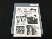 Indian Motorcycle News Chief Scout April 1992 Parts Book Manual P243
