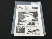 Indian Motorcycle News Chief Scout October 1993 Parts Book Manual P249
