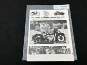 Indian Motorcycle News Chief Scout July 1994 Parts Book Manual P252