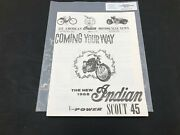Indian Motorcycle News Chief Scout Winter 1996 Parts Book Manual P258