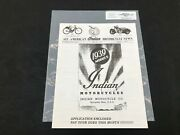 Indian Motorcycle News Chief Scout Spring 1997 Parts Book Manual P259