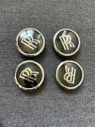 Used Rolls Royce Phantom Oem Wheel Center Caps Set Of 4 Pcs 36136773465