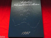 1997 Npa Note And Coin Collection Portfolio Of 5 Notes With Matched Zz 97 Serials