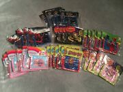 Lot Of 35 Various Kid Wallets Party Favor Gift Office Boys Girl Prize Spiderman