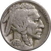1935-p Buffalo Nickel - Doubled Die Reverse Great Deals From The Executive Coin