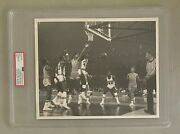 Lew Alcindor And Elvin Hayes 1968 Game Of The Century 8x10 Photo Type 1 Psa/dna