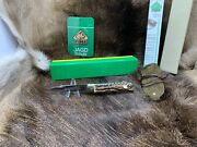 1991 Vintage 943 Jagdmesser Knife With Stag Handles Factory Mint In G/y Box