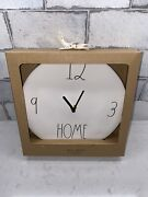 New Rae Dunn Artisan Collection Ll Home 9 Ceramic Wall Clock By Magenta