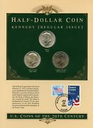 United States Coins Of The 20th Century Kennedy Half Dollars Silver Clad And Cn