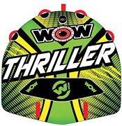 Thriller Watersports Inflatable Water Tube Deck Boat Towable Wild Wake