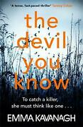 Devil You Know By Emma Kavanagh English Paperback Book Free Shipping
