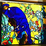 Original Stained Glass Andnbsppanel Designed And Created By Pegasus Lightjaquartechume