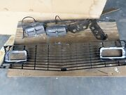 1970 Ford Mach 1 Grille Brackets Turn Signals Lamps - Used