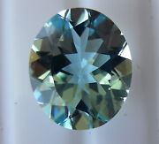 Natural Aquamarine 4.42ct Expertly Faceted In Germany +certificate Included