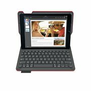 Logicool Keyboard Integrated Protective Case For Ipad Air 2 Red Ik1051rd New