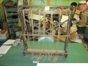 Antique Weaving Sewing Blanket Loom Circa 1880and039s