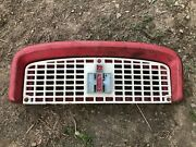 Ih Farmall 340 Row Crop Upper Nose And Grill With Ih Symbol