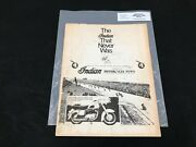 Indian Motorcycle News Issue 37 Chief Scout Manual Parts Service P318