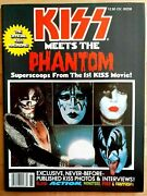 Kiss Vintage 1978 78 Phantom Of The Park Magazine Ace Peter Gene And Paul N/m