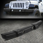 For 07-18 Jeep Wrangler Textured Front Hood Lower Bumper Cover W/fog Light Holes