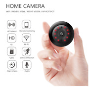 Mini Wireless Wifi Cctv Indoor And Outdoor Hd Ip Camera Home Security