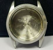 1950and039s Vintage Rolex Oyster Date 6066 Stainless Steel Case Parts Used