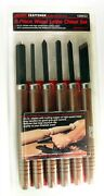 Craftsman 6-piece Wood Lathe Chisel Set 28553 - Made In Usa - Brand New