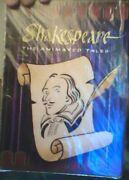 Shakespeare Animated Tales 4 Dvd - Ntsc -excellent Condition - Rare Fship