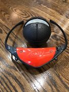 Nerf Firevision Sports Ball Lights Out Game On Ages 6+ Glowing Ball Red Goggles