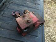 Ih Farmall 340 Row Crop Rear Hydraulic Block And Check Valve Combo Off Runner