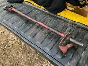 Ih Farmall 340 Row Crop Front Steering Shaft, Knuckle And Bracket Bolster Side