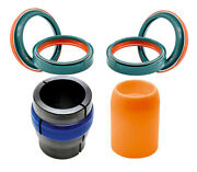 Skf Dual Compound Fork Seal And Motion Pro Ringer Driver And Bullet For Wp 48mm Fork