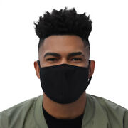 Simple Black Face Mask 3 Pack Great For Protests And Ppe Small Or Medium Size Blm
