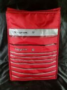 Snap On Tool Box Styled Cooler Lightweight And Foldable W/ Zipper And Strap Usa