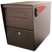 Mail Boss 7208 Package Master Mail Boss Security Mailbox Bronze
