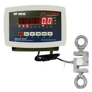 Optima Scales Op-926-3000 Hanging Scale - 3000 Lbs X 0.5 Lb.