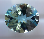 Natural 4.42ct Aquamarine Expertly Faceted In Germany +certificate Included